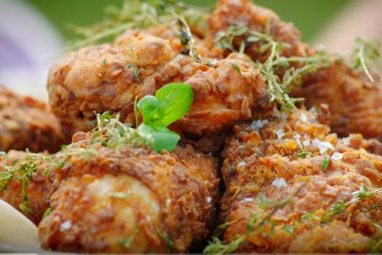 Jamie Oliver – rántott csirke