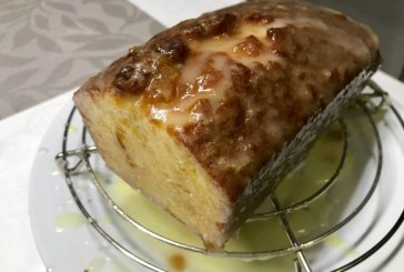 Citromos szitált sütemény