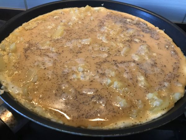 spanyol krumplis tortilla